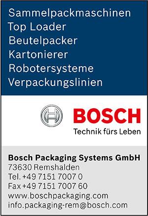 BOSCH | austropack | Topanbieter | (c) Bosch