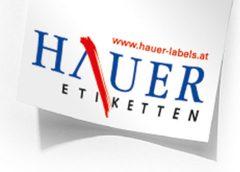 HAUER Etiketten | Topanbieter | austropack | (c) Hauer Etiketten