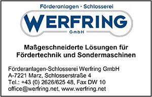 WERFRING   austropack   Anbieterindex   ÖRDERANLAGEN (c) WERFRING