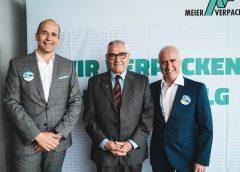v.l.n.r.: Geschäftsführer Ralf Oesingmann, Moderator Heinz Habe, Standortleiter Walter Michelitsch