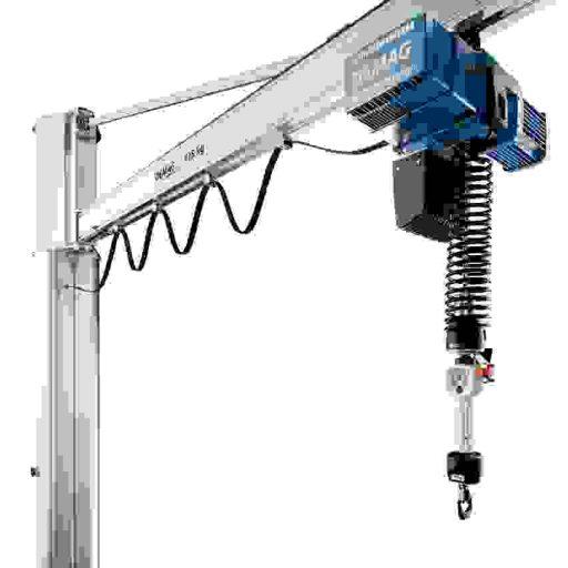 Demag Kettenzug DCBS mit Balancer-Funktion zum hoch präzisen Lastenhandling.