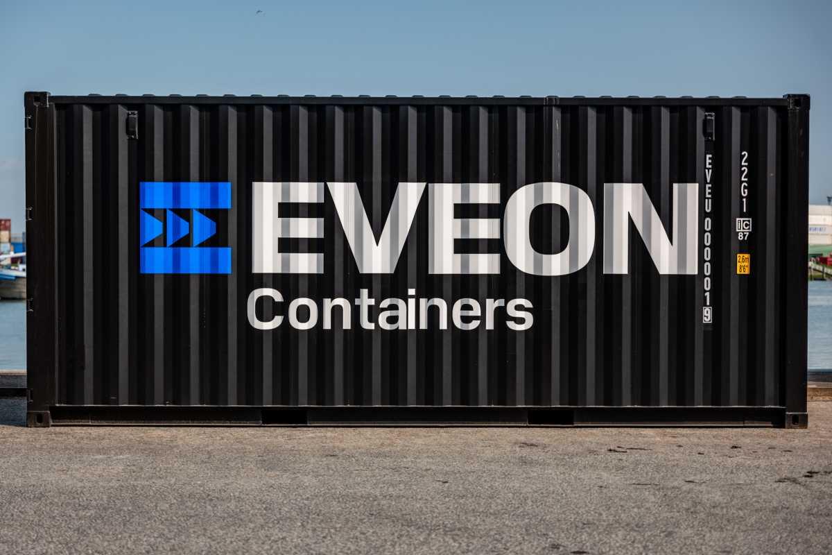 Eveon wurde 2020 in Rotterdam in den Niederlanden mit der Vision gegründet, den globalen Container-Markt mit einem innovativen Webshop zu revolutionieren. (Foto: Eveon)