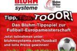 Tippspiel zur Fußball-Europameisterschaft 2021 (Foto: Bluhm Systeme)