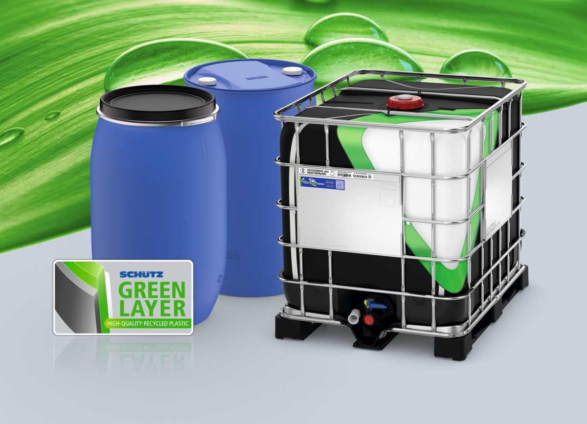 Die IBCs der Green Layer Serie verfügen über eine UN-Zulassung. (Foto: Schütz)